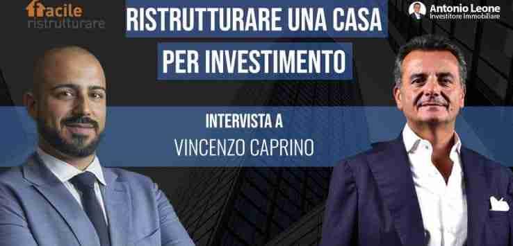 ristrutturare per investimento