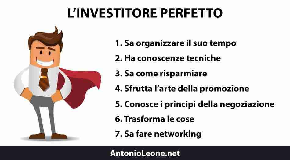 Antonio Leone investitore