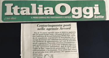 Italia Oggi Accord